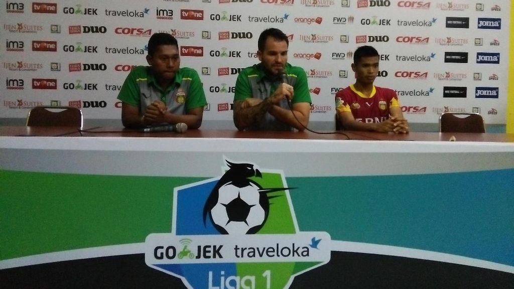 Pelatih Bhayangkara FC Nilai Dua Gol Arema Kontroversial