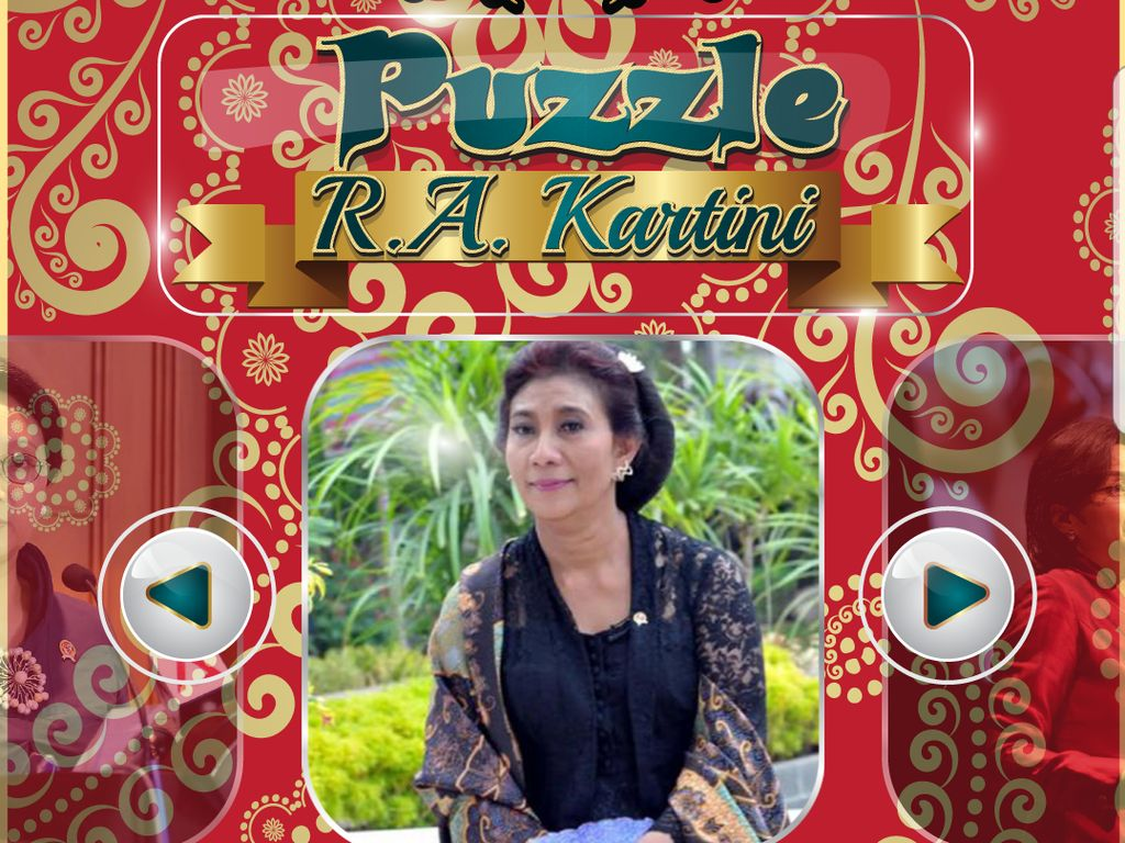 Tiga Menteri Jadi Model Game Kartini Bikinan Bocah 10 Tahun