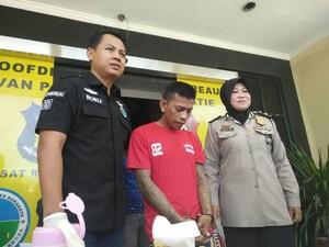 Tahanan Kabur ini Tertangkap saat Sedang Ngamen