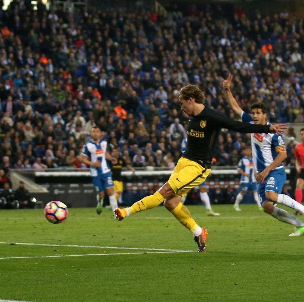 Gol Griezmann Antar Atletico Taklukkan Espanyol