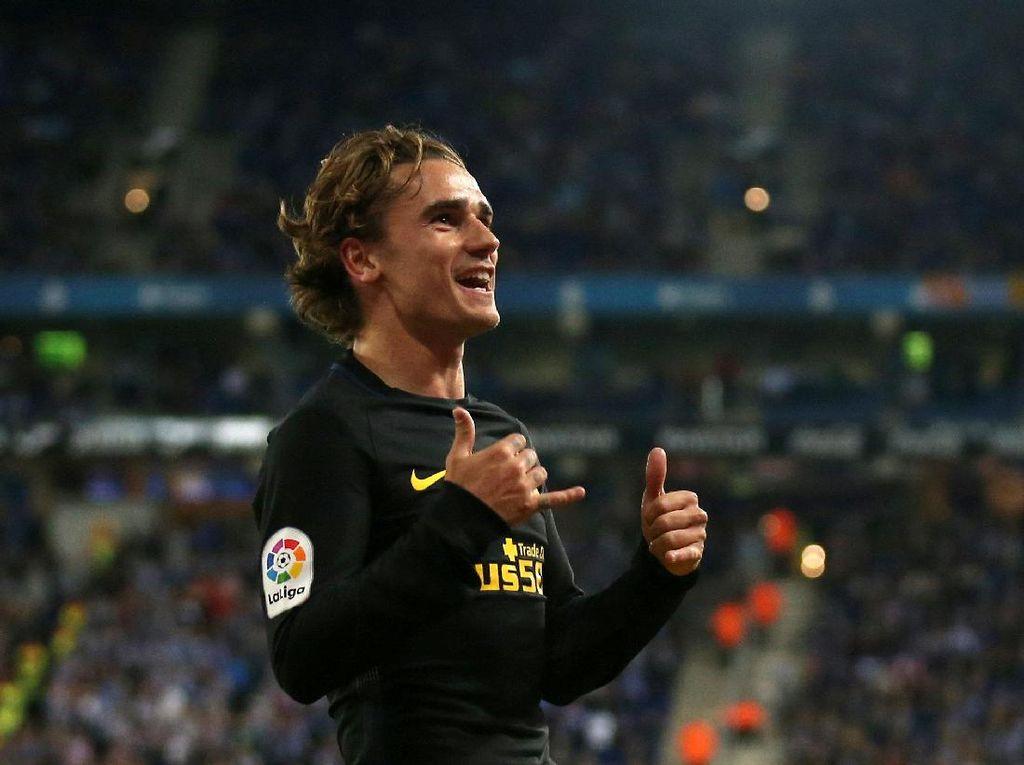 Griezmann Sudah Tembus 100 Gol di Liga Spanyol