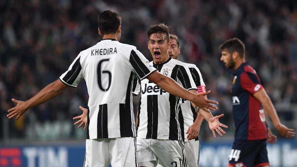 Juventus Benamkan Genoa 4-0