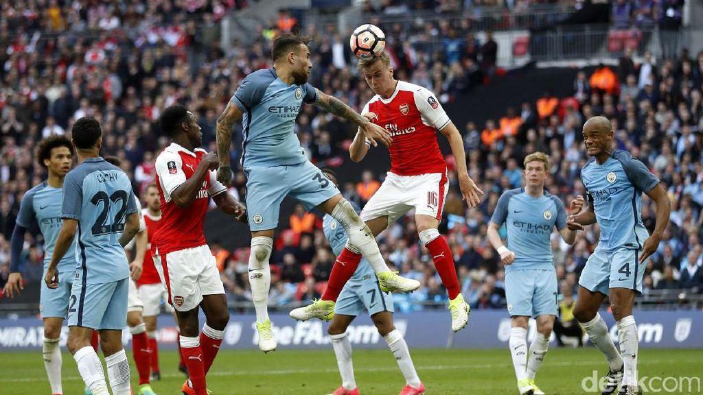 Drama dan Keseruan di 5 Pertemuan Terakhir City dan Arsenal