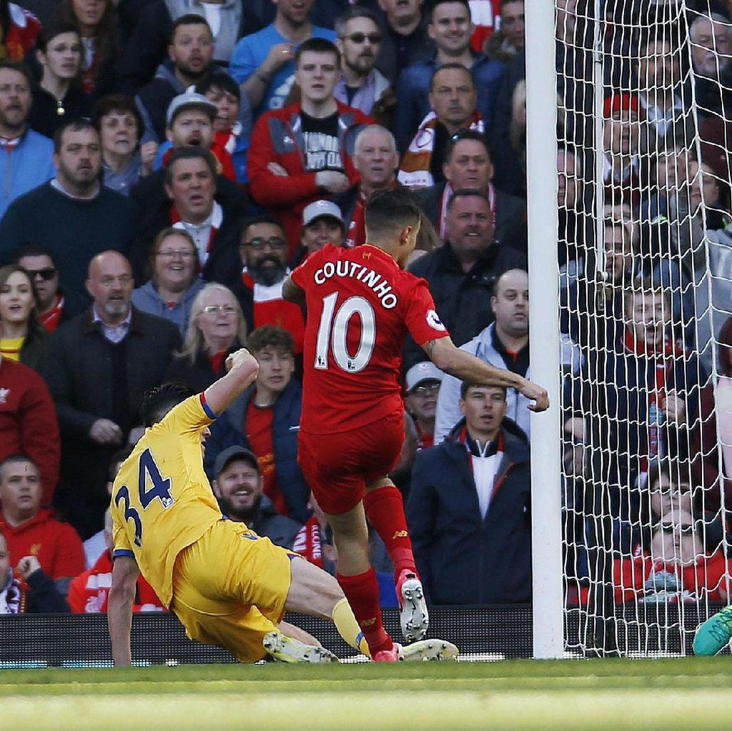 Klopp: Liverpool Bisa Saja Dapat Penalti, Sayangnya Coutinho Tidak Jatuh