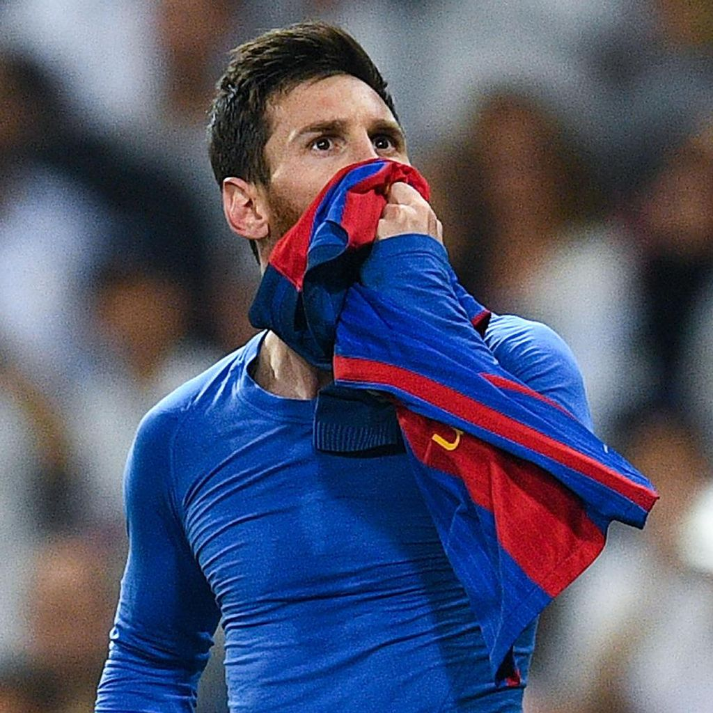 Messi Beri Luka Berlipat-lipat untuk Santiago Bernabeu