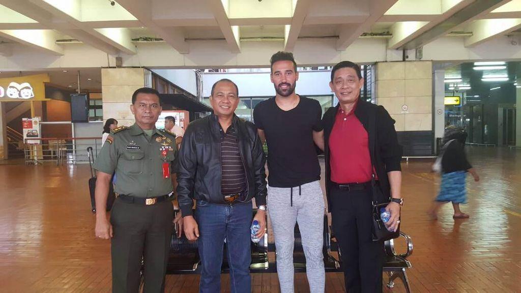Kata Marquee Player PS TNI tentang Gol Perdananya di Liga 1