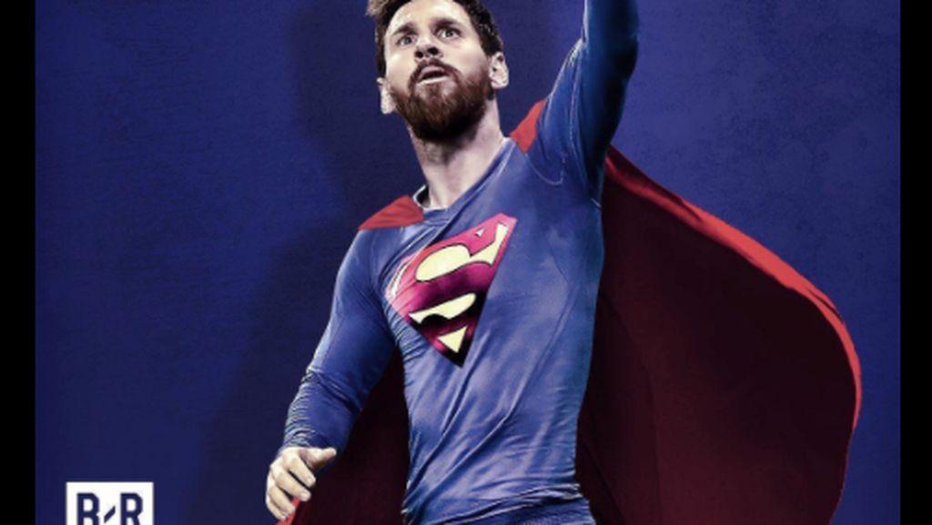 Netizen Ramai Angkat Topi Buat 500 Gol Messi