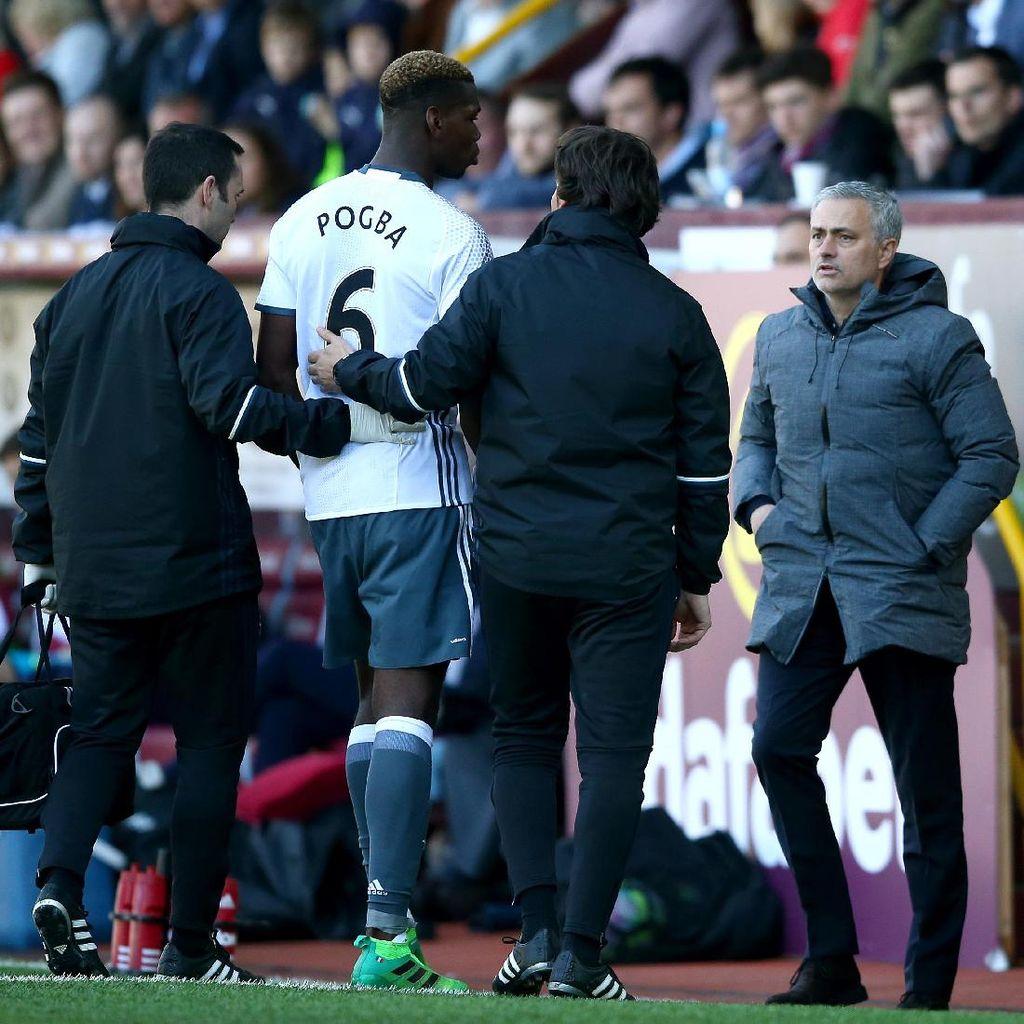 Mourinho Ragu Pogba Bisa Tampil di Derby Manchester