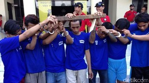 7 Tahanan Polsek Tambaksari yang Kabur akan Diberi Pasal Tambahan