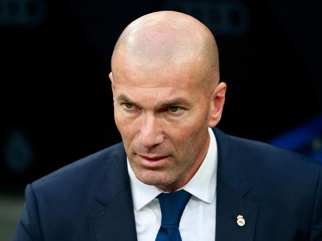 Zidane Yakin Kekalahan dari Barca Tak Gores Kepercayaan Diri Madrid