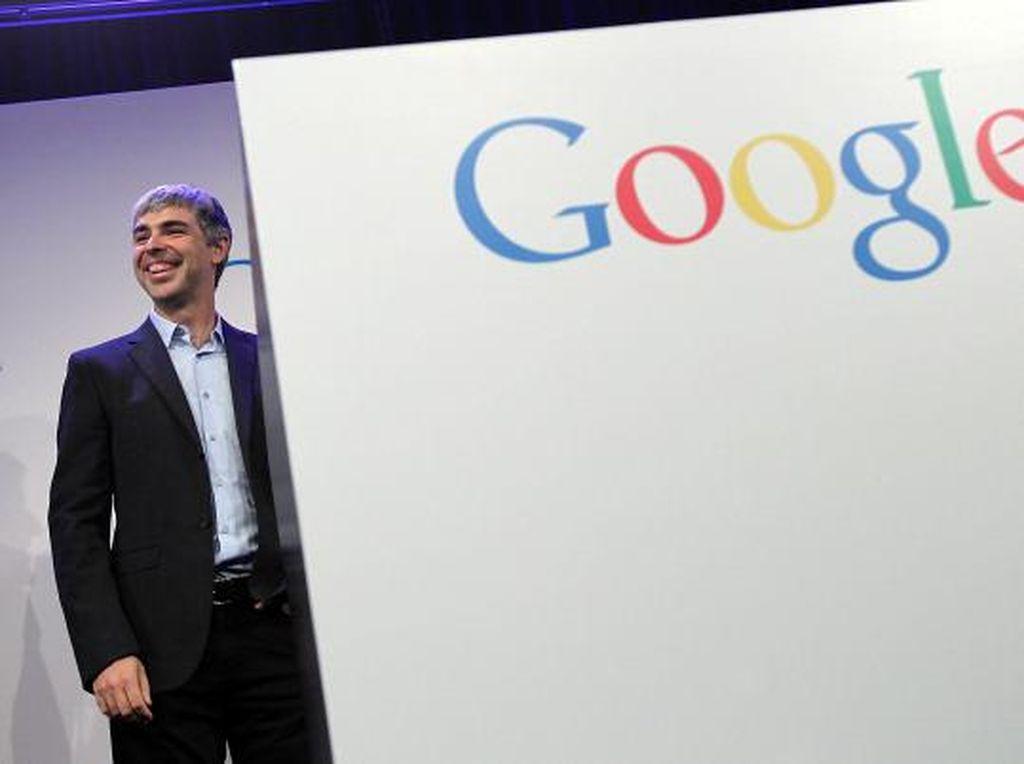 Larry Page, Si Genius Pendiri Google yang Bagai Hantu