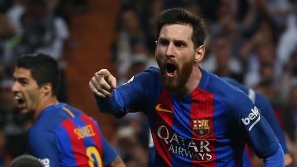 Barca Menang di Bernabeu, Messi: Liga Masih Panjang