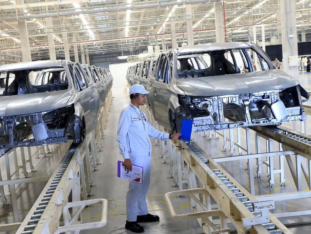 Industri Komponen Otomotif RI Kalah dari Thailand dan Vietnam