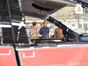 Jokowi: Mitsubishi Investasi, Buka Lapangan Kerja untuk Indonesia
