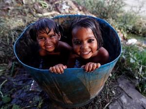 Begini Cara Anak-anak di India Lawan Gelombang Panas