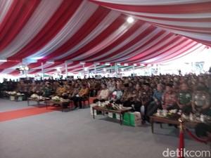 Gubernur dan Kepala Daerah Peringati Hari Otoda di Sidoarjo