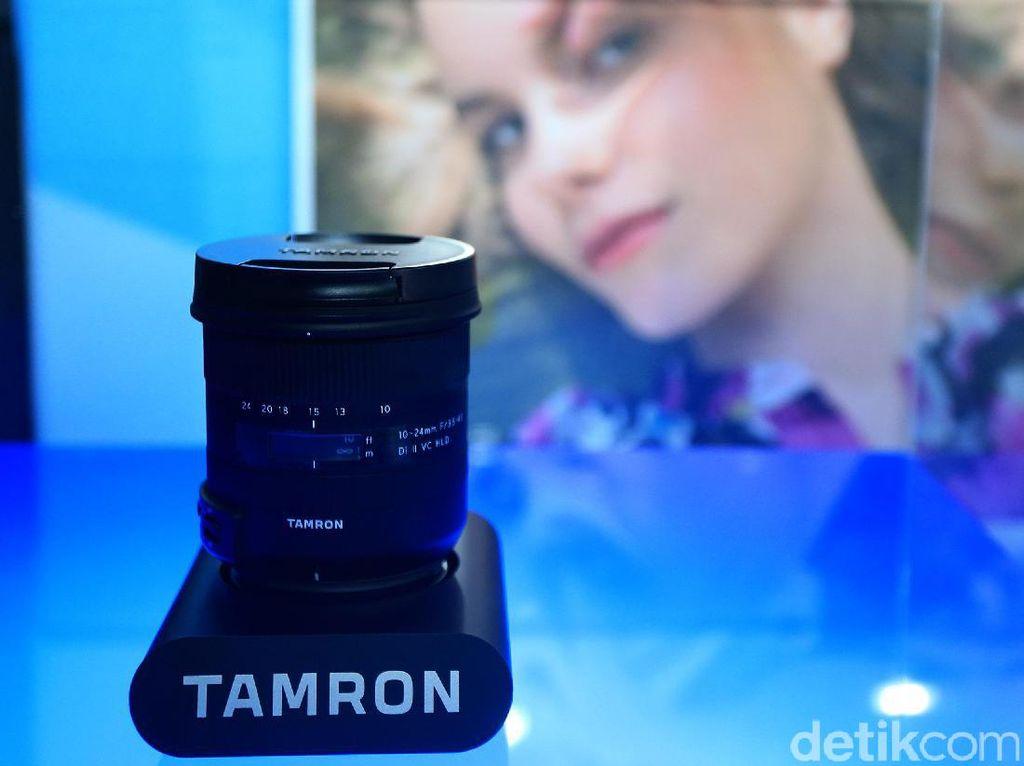 Tamron Boyong Lensa Wide dan Tele Anyar