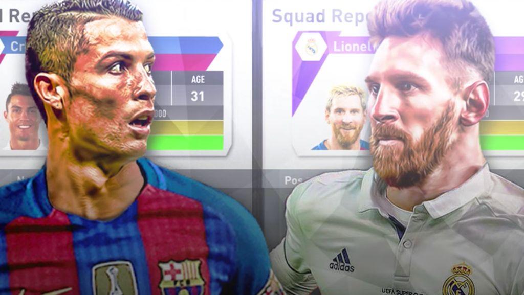 Bagaimana Jika Messi Main di Madrid dan Ronaldo Berseragam Barca?