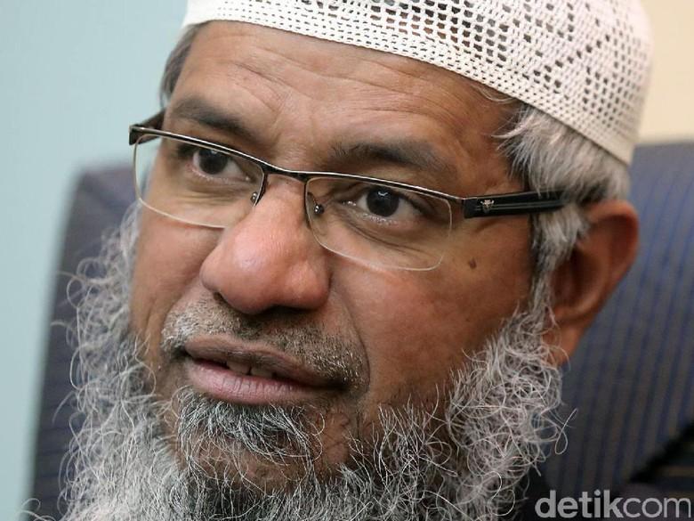Malaysia Akan Bahas Permanent Residency Ulama Kontroversial Zakir Naik