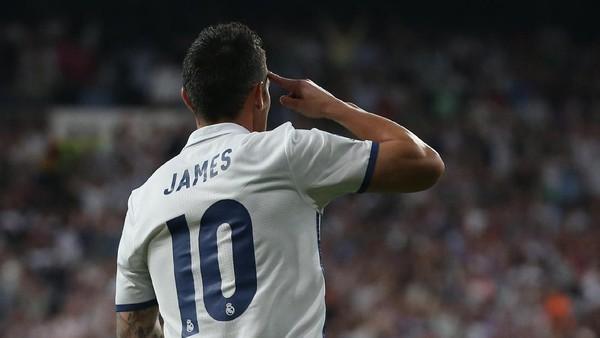 Bayern Pinjam James Rodriguez dari Madrid