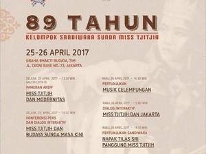 Peringati 89 Tahun, Sandiwara Miss Tjitjih Gelar Pertunjukan di Jakarta
