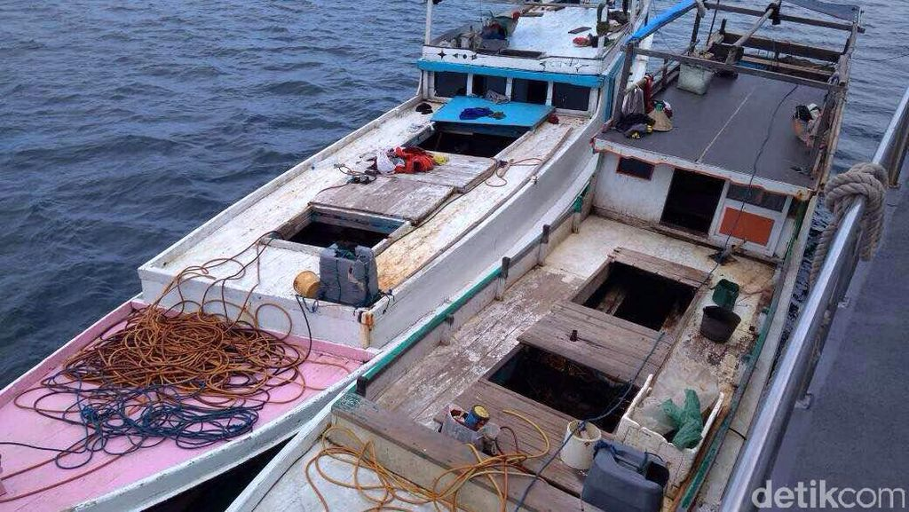 4 Kapal Ikan Vietnam Ditangkap di Perairan Natuna