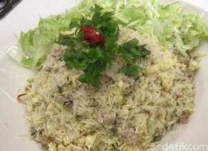 Resep Nasi : Nasi Goreng Putih Ikan Asin