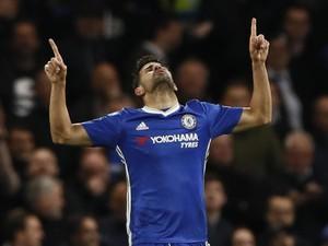 Conte Selalu Percaya Diego Costa