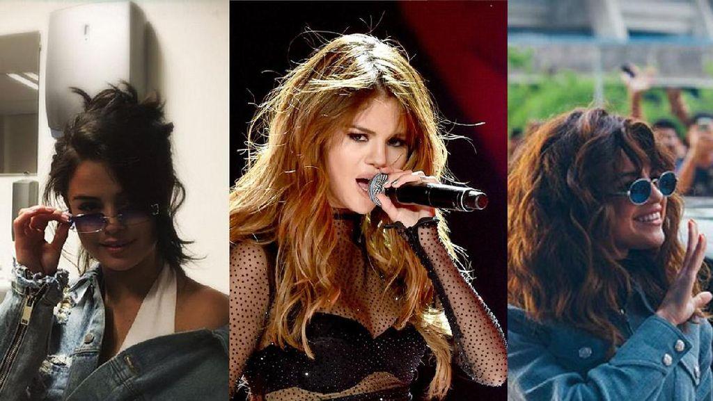 Gaya Rambut Selena Gomez, Pilih Mana?