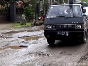 Awas, Jalan di Kabupaten Trenggalek Sepanjang 155 Km Rusak