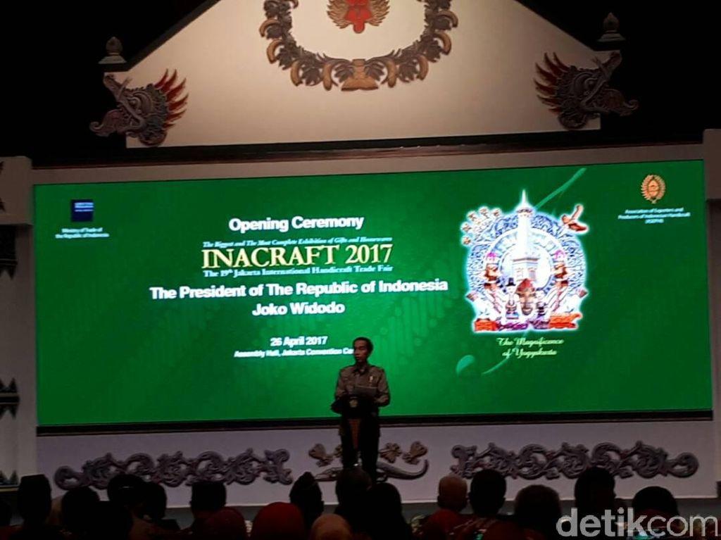 Jokowi: Masa Depan RI di Industri Kreatif
