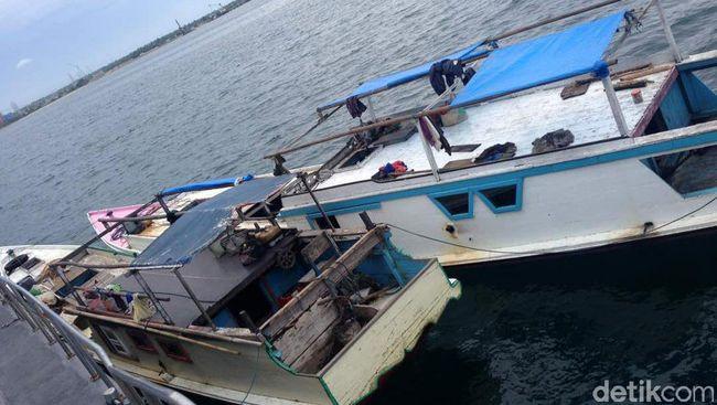 14 Kapal Pencuri Ikan dari Vietnam Ditangkap di Natuna