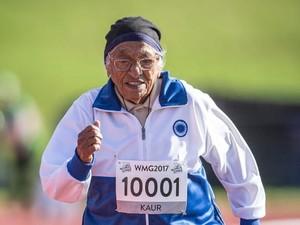 Hebat! Nenek 101 Tahun Ini Raih Medali Emas dalam Lomba Lari