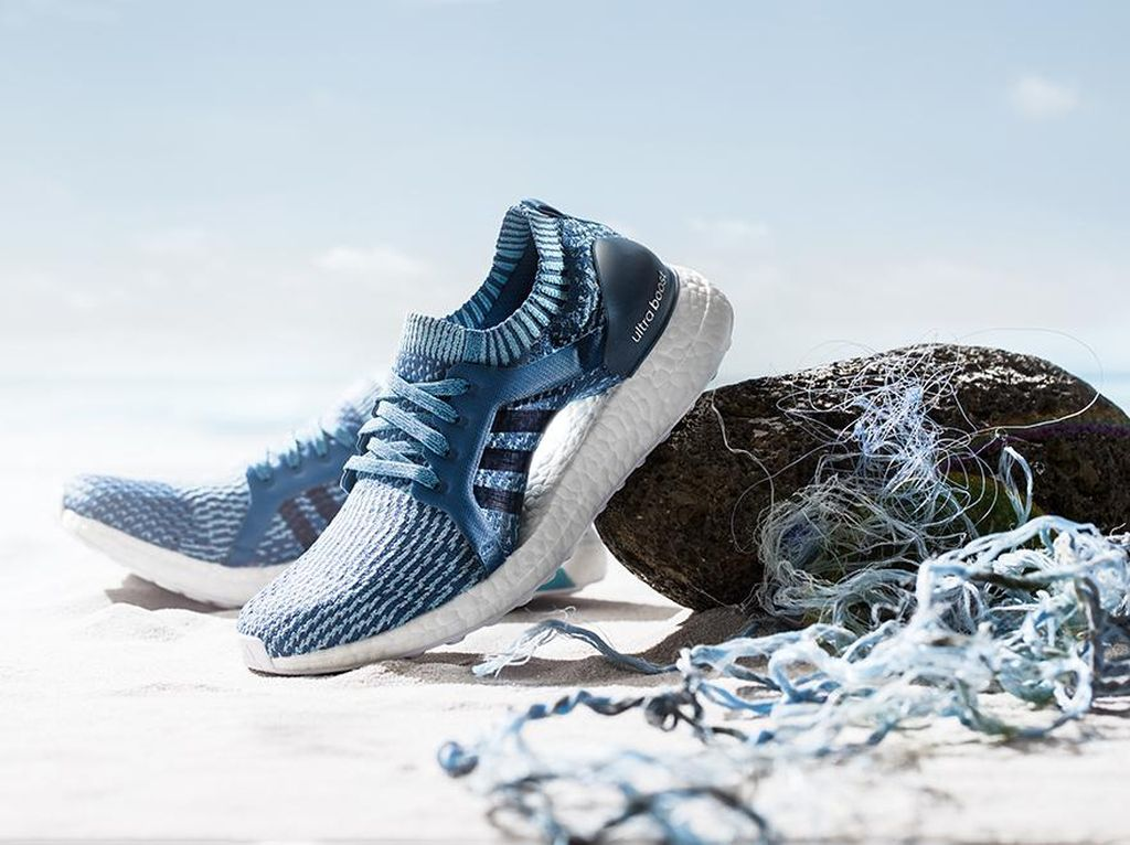 Adidas Rilis Sneakers Terbuat dari Sampah Plastik