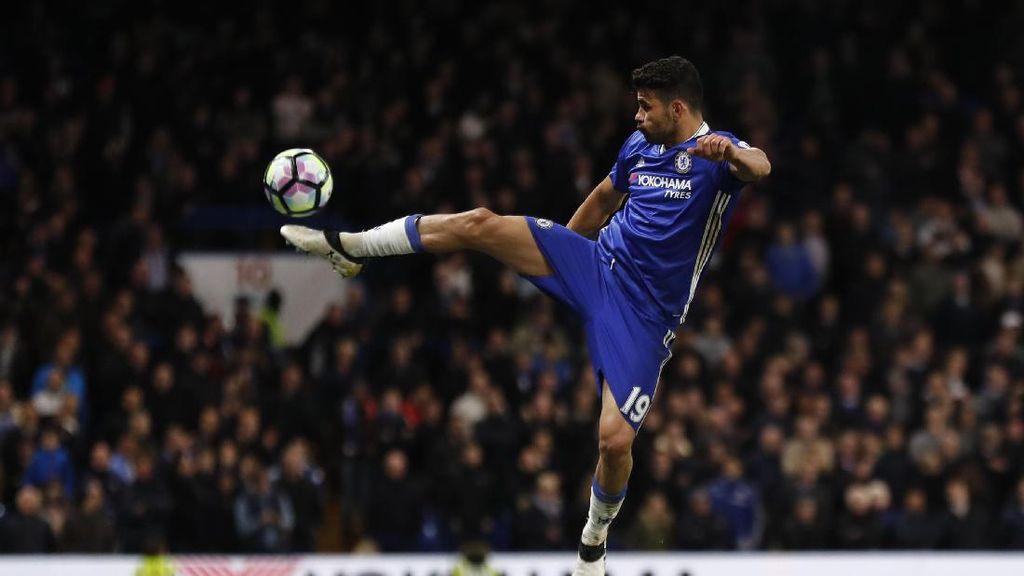 Diego Costa Sudah Tembus 50 Gol di Liga Inggris