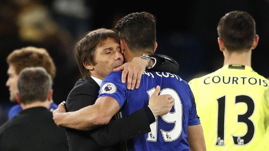 Conte: Terima Kasih, Diego Costa
