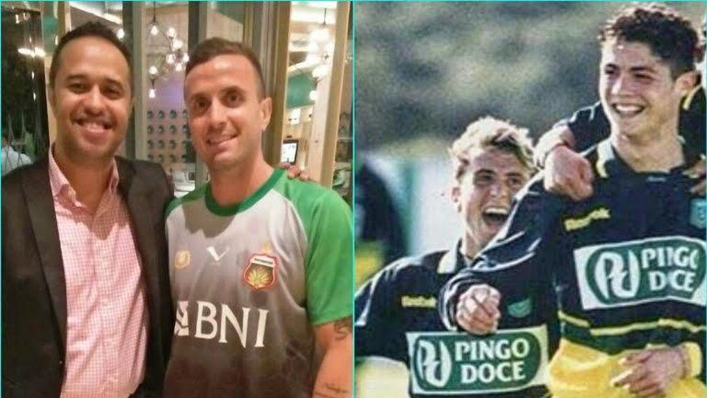 Eks Rekan Setim Ronaldo Bingung Pilih Nomor di Bhayangkara FC