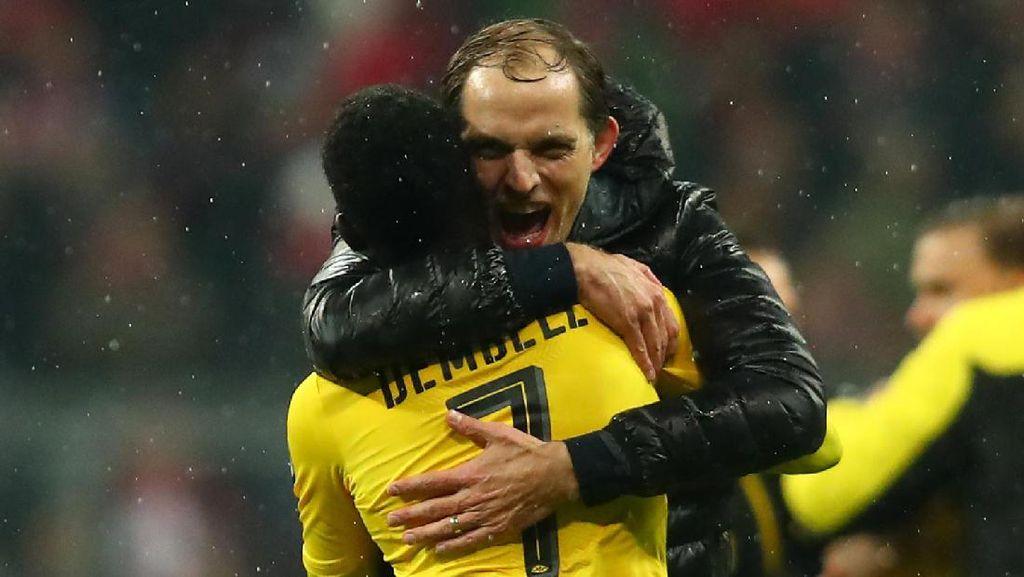Tuchel Akui Dortmund Dinaungi Keberuntungan