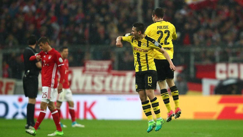 Kalahkan Bayern 3-2, Dortmund Melangkah ke Final