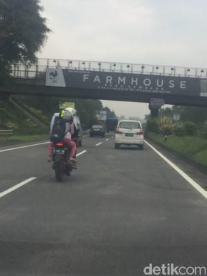 Heboh, Bikers Masuk Jalur Tol Purbaleunyi Viral di Medsos
