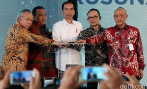 Jokowi Groundbreaking Rusunami untuk Buruh di Tangsel
