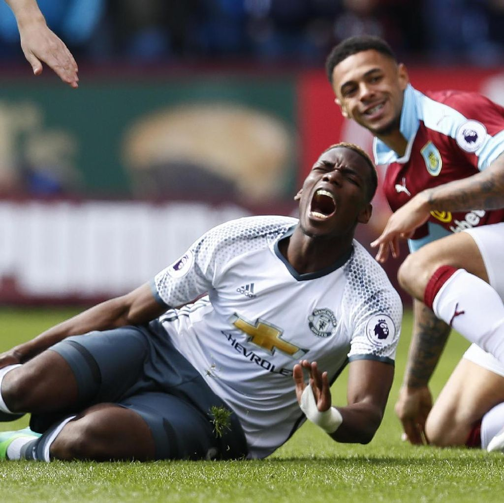 Pogba Absen di Derby Manchester
