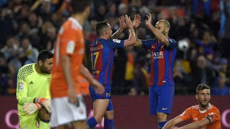 Hasil Liga Spanyol di Tengah Pekan