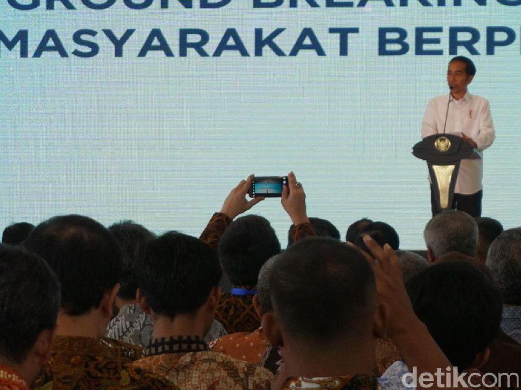 Bangun 6.000 Rusunami di Serpong, Jokowi: Cicilan Rp 1,12 Juta