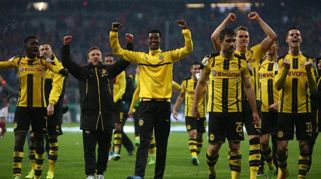 Sudah Singkirkan Bayern, Dortmund Ingin Sempurnakan dengan Trofi