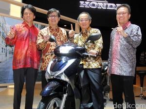 Kenalan dengan Skutik Premium Honda SH150i