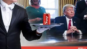 Doyan Junk Food, Trump Punya Tombol Khusus di Meja untuk Minta Coke