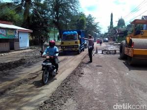 Jelang Lebaran, Jalur Mudik Selatan Jatim Diperbaiki