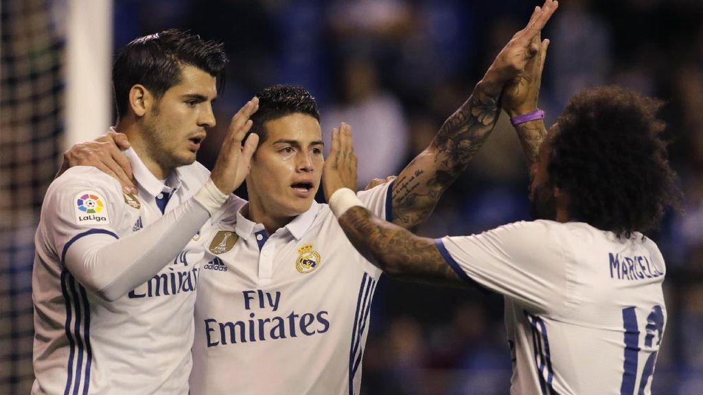 James Rodriguez: Madrid Hadapi Lima Final di Liga Spanyol