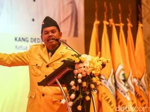 Novanto Tetapkan Emil Jadi Cagub Jabar, Ini Respons Dedi Mulyadi